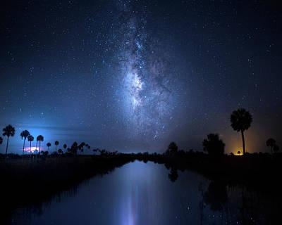 Photograph - Galaxy Creek by Mark Andrew Thomas