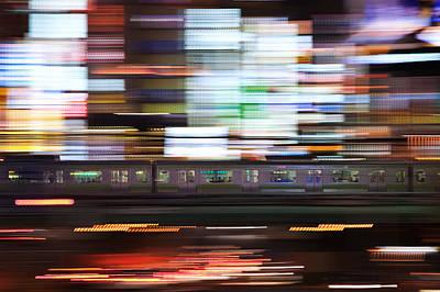 Motion Photograph - Galaxy Express by Shigehiro Ono