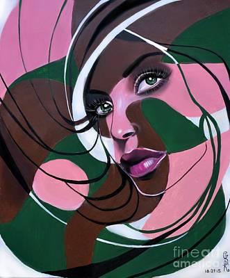 Cycles Painting - Galaxy by Gabriela Tasiro