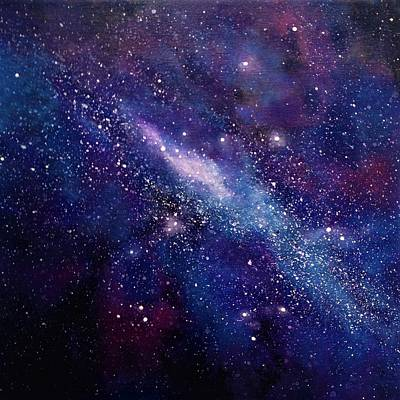 Theorist Painting - Galaxy  by Ivy Stevens-Gupta