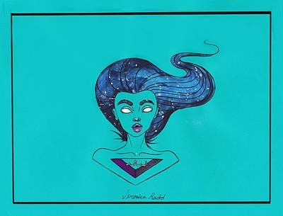 Galaxy Queen Original by Veronica Radd