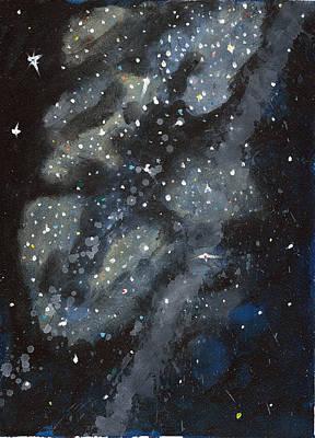 Galaxy Study Original by Timothy Forry