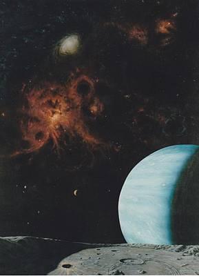 Tarantula Painting - Galaxy View by Wally Jones