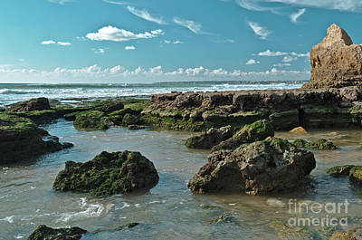 Photograph - Gale Beach Low Tide In Albufeira by Angelo DeVal