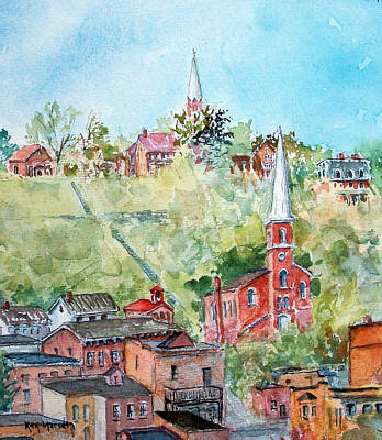 Painting - Galena 0612 by Ken Marsden
