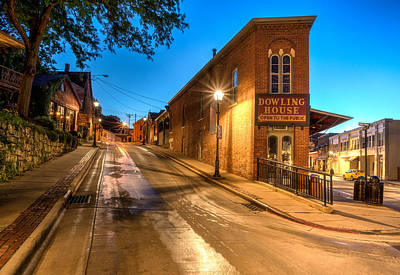 Galena By Night Art Print