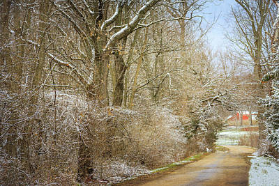 Photograph - Galena Country Road by Joni Eskridge