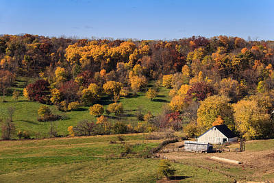 Photograph - Galena Farm In Fall by Joni Eskridge