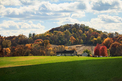 Photograph - Galena Farm On A Hill by Joni Eskridge