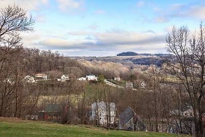 Photograph - Galena - From Top Of The Town by Joni Eskridge