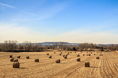 Photograph - Galena Haystacks by Joni Eskridge