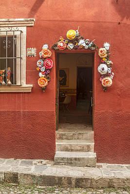 Bar San Miguel Photograph - Galeria Buena Vida by Lindley Johnson