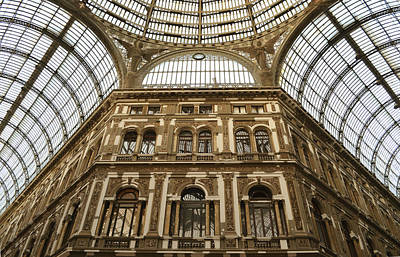 Photograph - Galleria Umberto I by Rumiana Nikolova