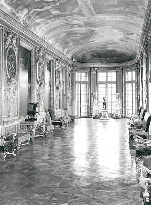 Painted Hall Photograph - Galerie D'hercule by Charles Le Brun