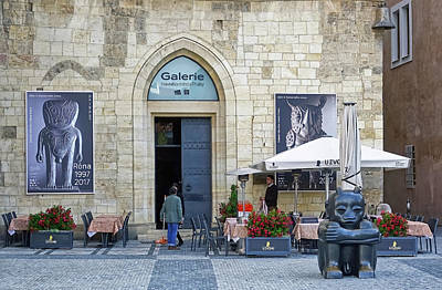 Photograph - Galerie Hlavniho Mesta Prahy In Prague by Richard Rosenshein