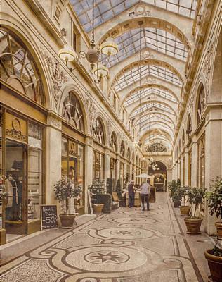 Photograph - Paris, France - Galerie Vivienne by Mark Forte