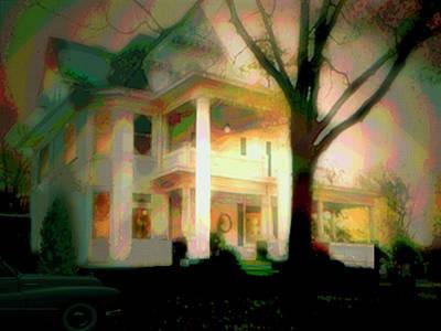 Galesburg House Art Print
