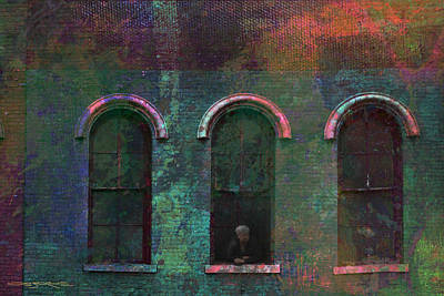 Photograph - Galesburg Windows 1 by Patrick J Osborne