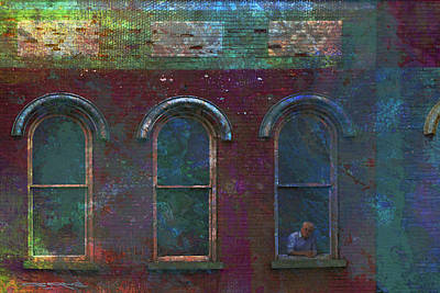 Photograph - Galesburg Windows 2 by Patrick J Osborne