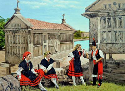 Galicia La Bella Art Print by Tony Banos