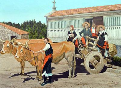 Painting - Galicia La Nostalgica by Tony Banos
