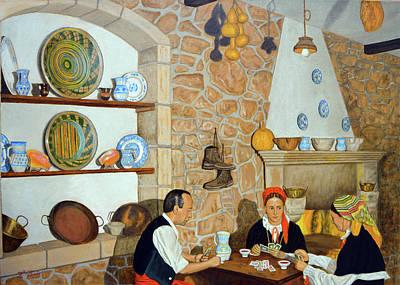 Painting - Galicia Mia by Tony Banos