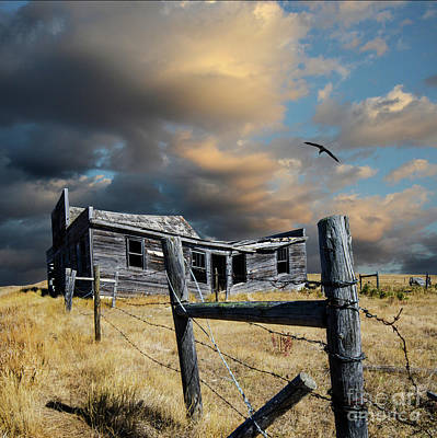 Photograph - Galilee Saskatchewan 4 by Bob Christopher