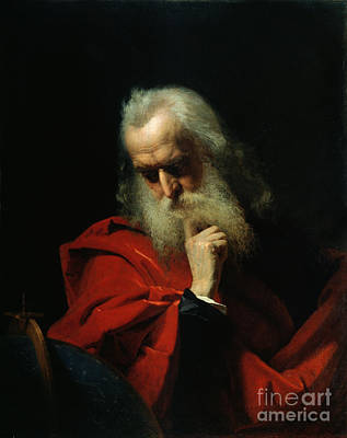 Elderly Painting - Galileo Galilei by Ivan Petrovich Keler Viliandi