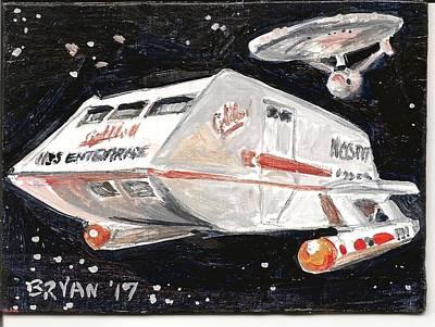 Painting - Galileo II  by Bryan Bustard