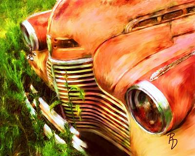 Digital Art - Gallant Grille by Ric Darrell