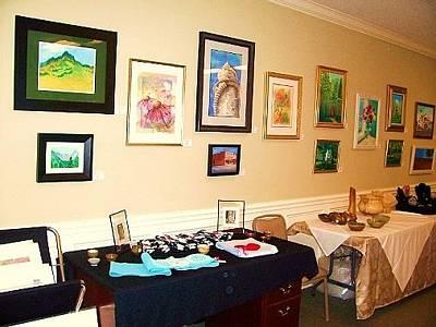 Gallatin Painting - Gallatin Equestrian Hunt Club Art Showing  by Peggy Leyva Conley