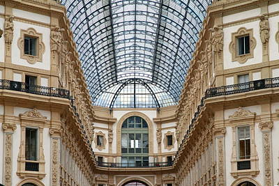 Photograph - Galleria Details by Valentino Visentini