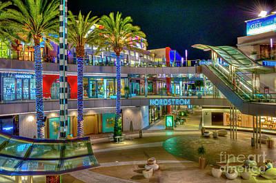 Photograph - Santa Monica Place Mall 2 by David Zanzinger