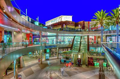Photograph - Santa Monica Place Mall 1 by David Zanzinger