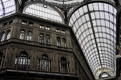 Photograph - Galleria Umberto Design by John Rizzuto