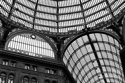 Photograph - Galleria Umberto I by John Rizzuto