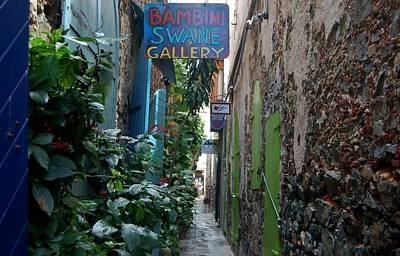 Photograph - Gallery Alley by Christopher James