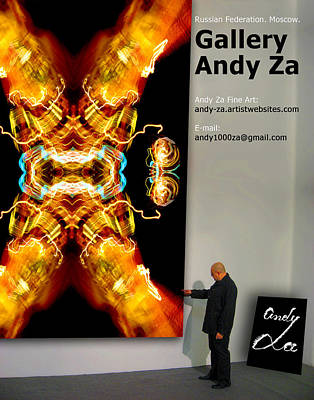 Gallery Website Photograph - Gallery  Andy Za. by Andy Za