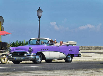 Photograph - Gallivanting Havana  by Connie Handscomb