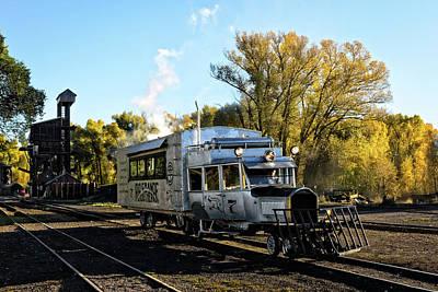 7 Train Photograph - Galloping Goose 7 by Debra Martz