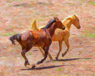 License Plate Skylines And Skyscrapers Rights Managed Images - Galloping Horses Royalty-Free Image by SR Green