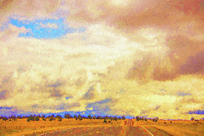 Photograph - Galloping Texas Skies by Susan Crossman Buscho