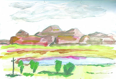 Painting - Gallup New Mexico by Kevin Callahan