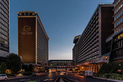 Art Print featuring the photograph Galt House Hotel And Suites by Randy Scherkenbach