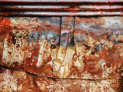 Photograph - Aussie Galvanised Iron #1 by Lexa Harpell
