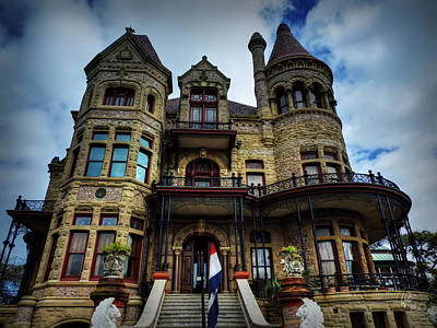 Galveston - Bishop's Palace 001 Art Print
