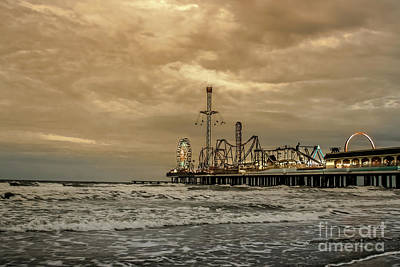Photograph - Galveston Island Evening by Robert Frederick