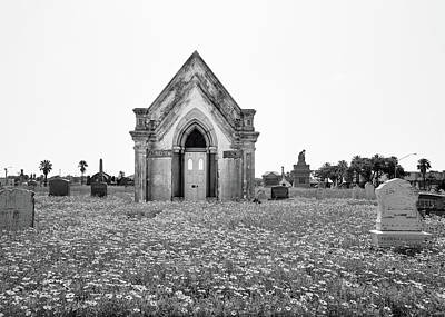 Galveston Old City Cemetery Art Print