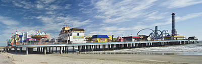 Photograph - Galveston Pleasure Pier by Allen Sheffield