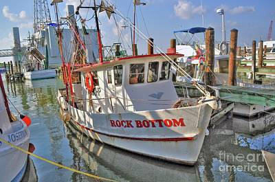 Photograph - Galveston Shrimp Boat by Savannah Gibbs